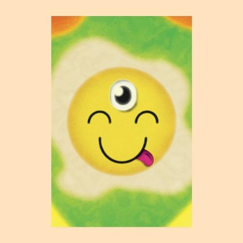 Das dritte Auge Emoji - Poster 20x30 cm
