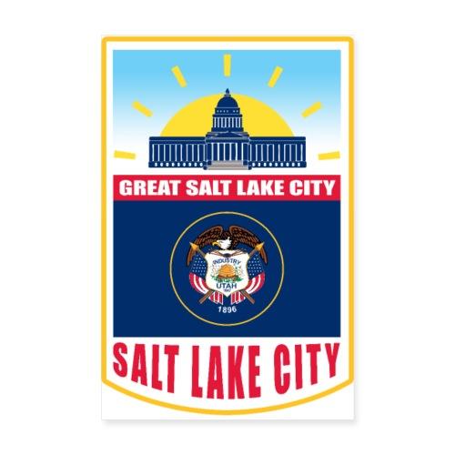 Utah - Salt Lake City - Poster 8 x 12 (20x30 cm)