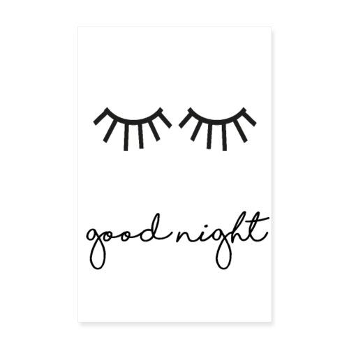 good night 2 - Poster 20x30 cm