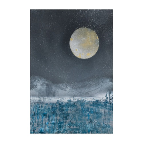 Blue Moon - Poster 8 x 12 (20x30 cm)