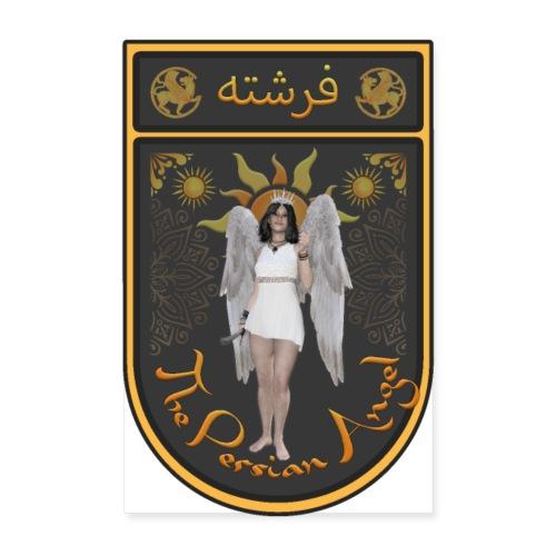 Persian Angel Anahita - Farsi Angel - Poster 8 x 12 (20x30 cm)