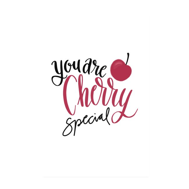You are Cherry special - Poster