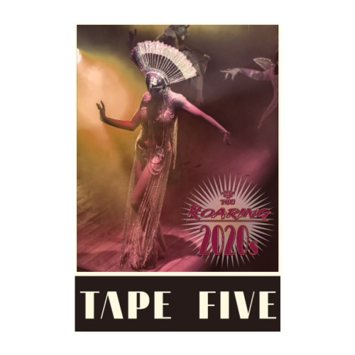 TAPE FIVE The Roaring 2020s poster - Poster 8 x 12 (20x30 cm)