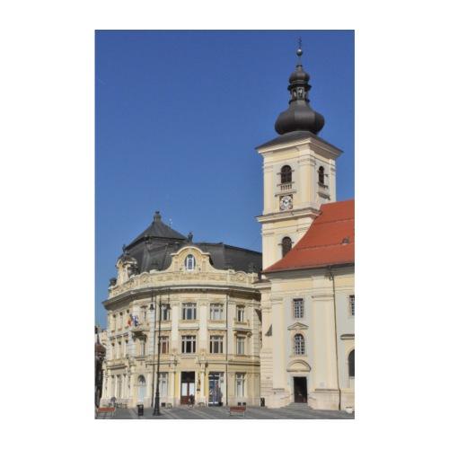 Hermannstadt - Bürgermeisteramt am großen Ring - Poster 20x30 cm