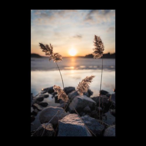 Kevättalvi Saimaalla - Juliste 20x30 cm