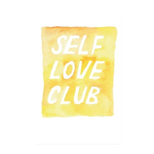 brushmeetspaper Self Love Club 60x90 - Poster 20x30 cm