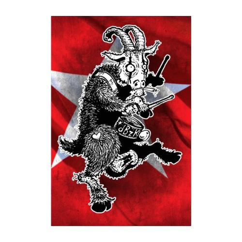 Poster de Bok Z'n Kloete - Poster 20x30 cm