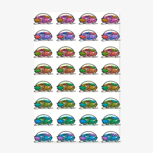 Kebabs (FondClair) - Poster 20 x 30 cm