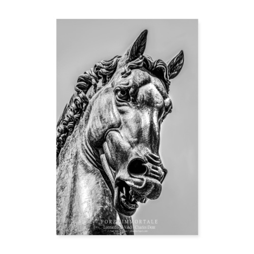 Ippolandia Pferd des Leonardo Da Vinci - Poster 20x30 cm