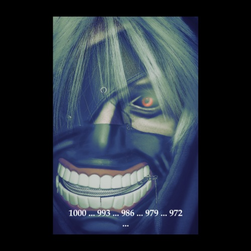 Tokyo Ghoul Farbspiel - Poster 20x30 cm