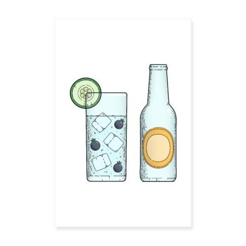 Gin & Tonic - Poster 20x30 cm
