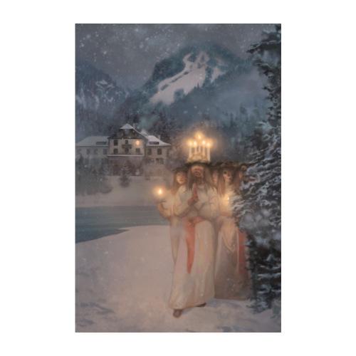 Marheim Fjellhotell poster - Poster 20x30 cm
