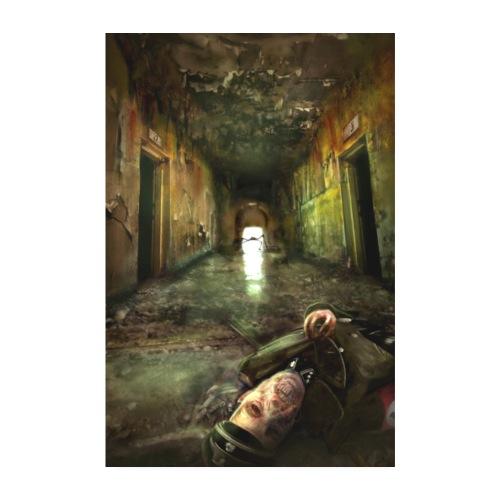 Haugen Sanatorium poster - Poster 20x30 cm