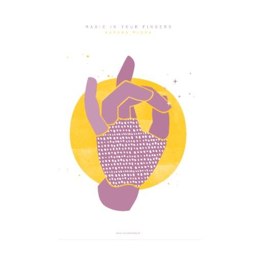 KARANA MUDRA   Poster - Poster 20x30 cm
