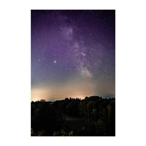 Nachthimmel - Poster 20x30 cm