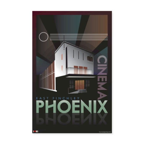 Phoenix Cinema Poster - Poster 8 x 12 (20x30 cm)