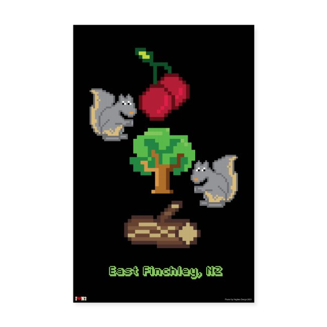 Cherry Tree Wood 8 Bit