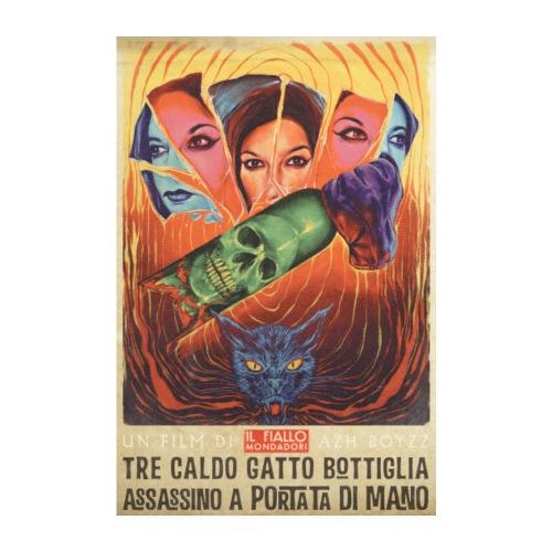 Tre Caldo Gatto... / Fiallo - COLOR (1 print) - Juliste 20x30 cm