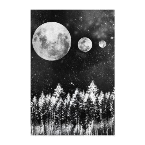 Lunar Moons - Poster 20x30 cm
