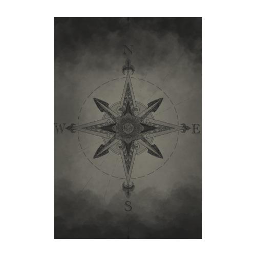 Kompass - Poster 20x30 cm