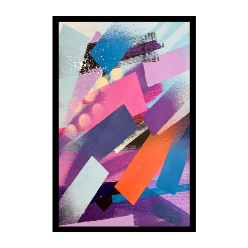Olavi Viheriälä - Lines 2 - Print - Poster 8 x 12 (20x30 cm)