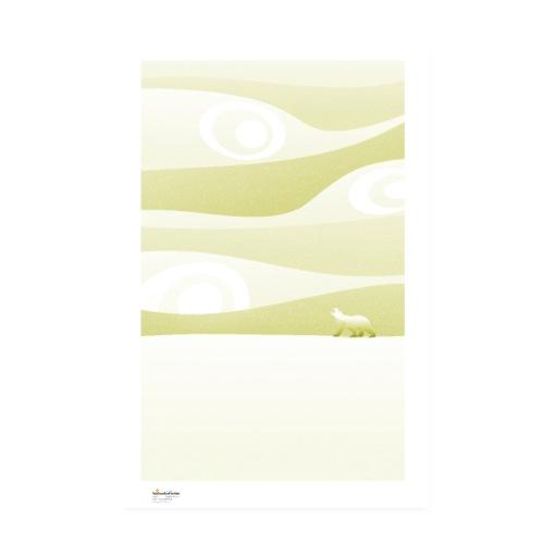 Calm / monochrome - Póster 20x30 cm