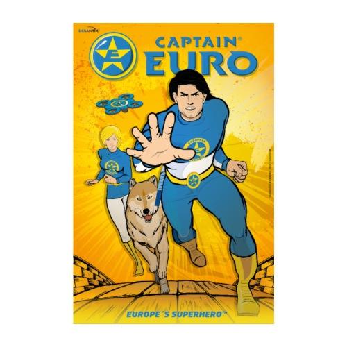 CAPTAIN EURO POSTER - Poster 8 x 12