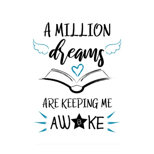 Poster - A Million Dreams - White - 2: 3 - Poster 8 x 12 (20x30 cm)