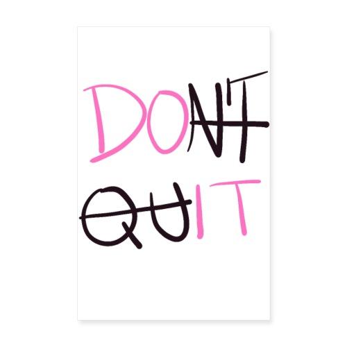 Do it - Poster 20x30 cm