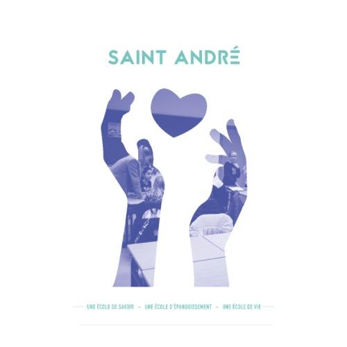 Poster Vie À Saint André 102 - Poster 20 x 30 cm