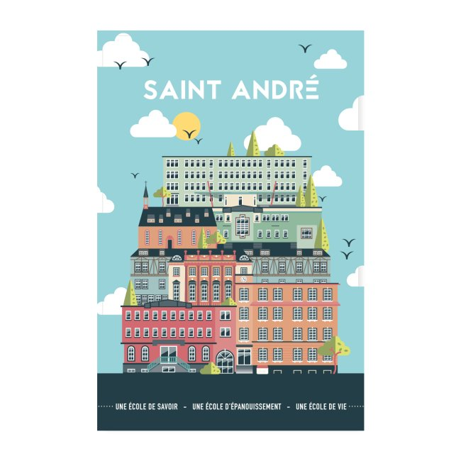 Poster Vie À Saint André 103
