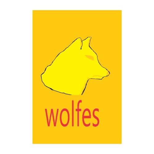 wolfes plakat - Poster 20x30 cm