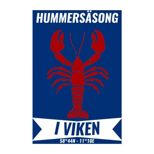 Vorren POSTER (Hummersäsong) - Poster 20x30 cm