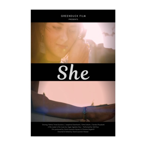She Poster - Poster 20x30 cm
