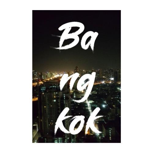Bangkok bei Nacht - Poster 20x30 cm