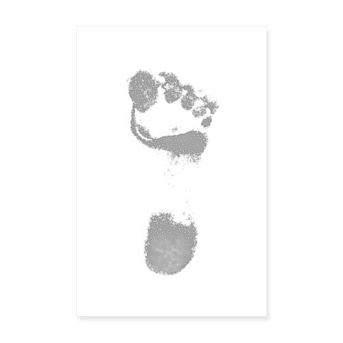 Footprint - Póster 20x30 cm