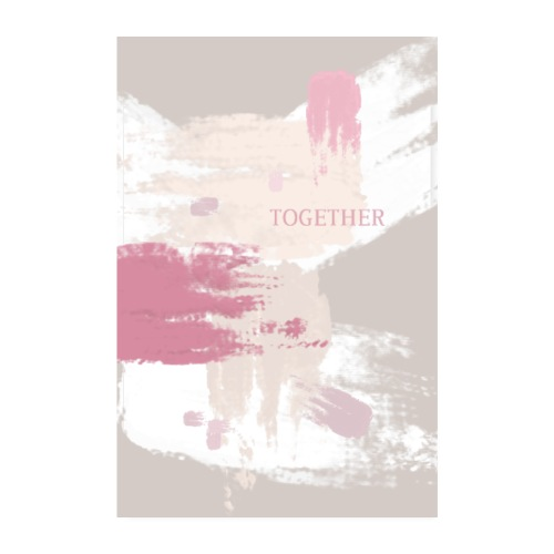 TOGETHER - Poster 20x30 cm