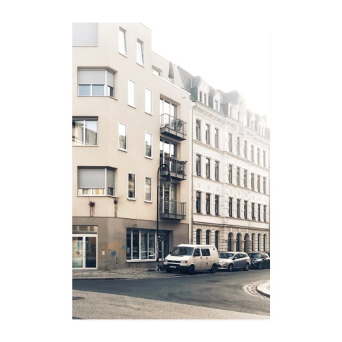 Dresden Neustadt - Poster 20x30 cm