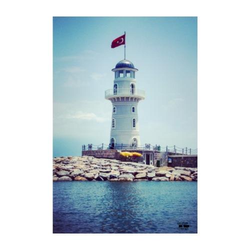 Leuchtturm Reisen Outdoor / Foto - Events&Reisen - Poster 20x30 cm