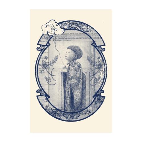 Poster enfant nuage - Poster 20 x 30 cm