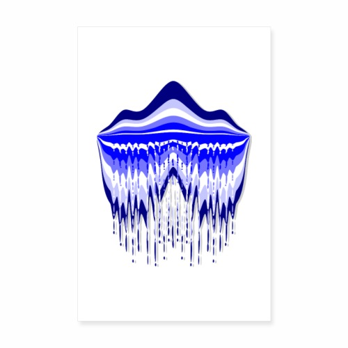 Blue Lagoon - Poster 8 x 12 (20x30 cm)