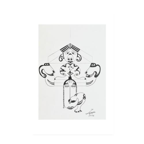 Die Schwarzwald Uhr | 2016 - Poster 20x30 cm