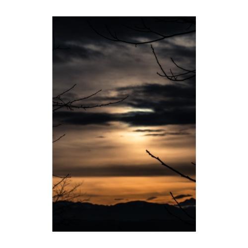 Sonnenuntergang No. 1 - Poster 20x30 cm