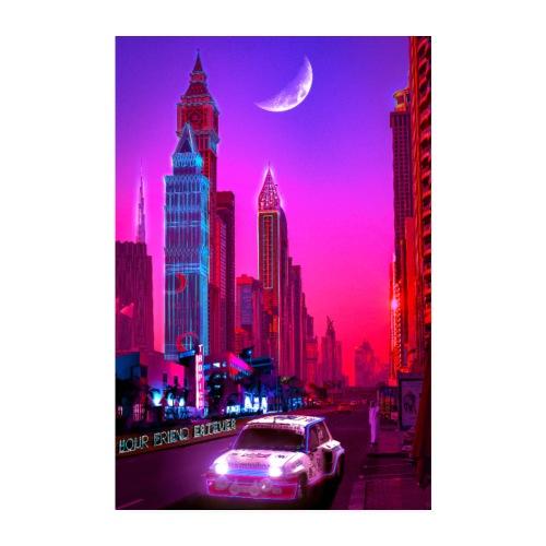Dubai Nights - Poster 8 x 12 (20x30 cm)