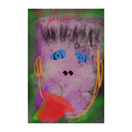 Leck Mich Poster - Poster 20x30 cm