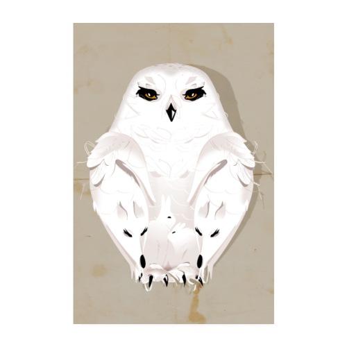 Wintertier - Poster 20x30 cm