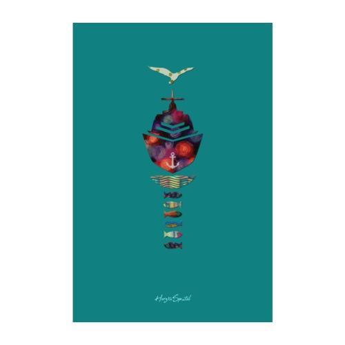 Limited Plakat Seegras - Poster 20x30 cm