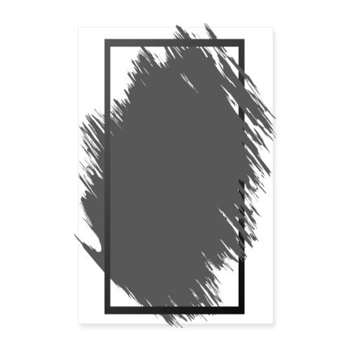 Grunge Rahmen fuer Deine Ideen 1 - Poster 20x30 cm