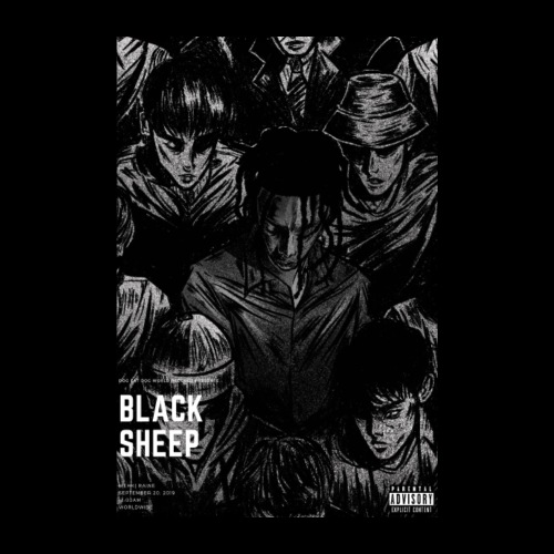 BLACK SHEEP POSTER - Poster 8 x 12 (20x30 cm)