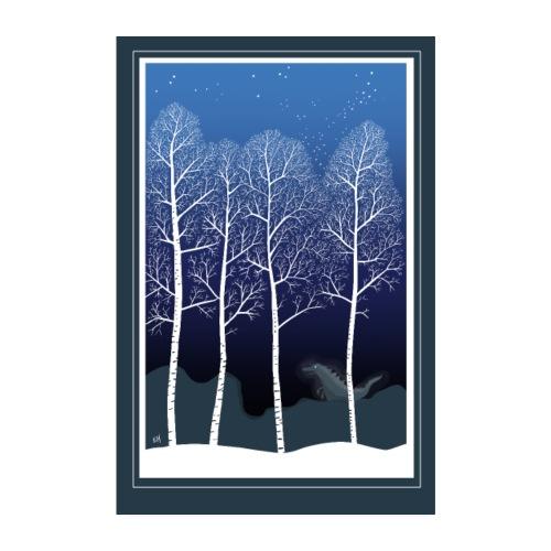 Talvi - Juliste 20x30 cm